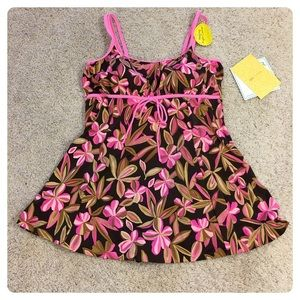 NWT! It Figures swim dress